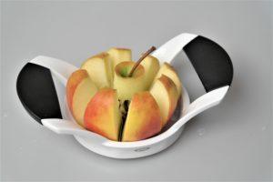 Eple uttet med eplekutter